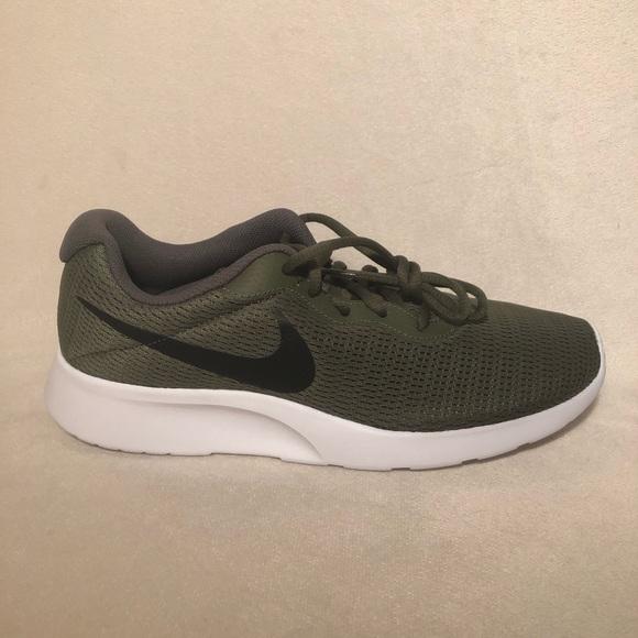 2018 sneakers hot product wholesale Men's Nike Tanjun Olive Green NWT